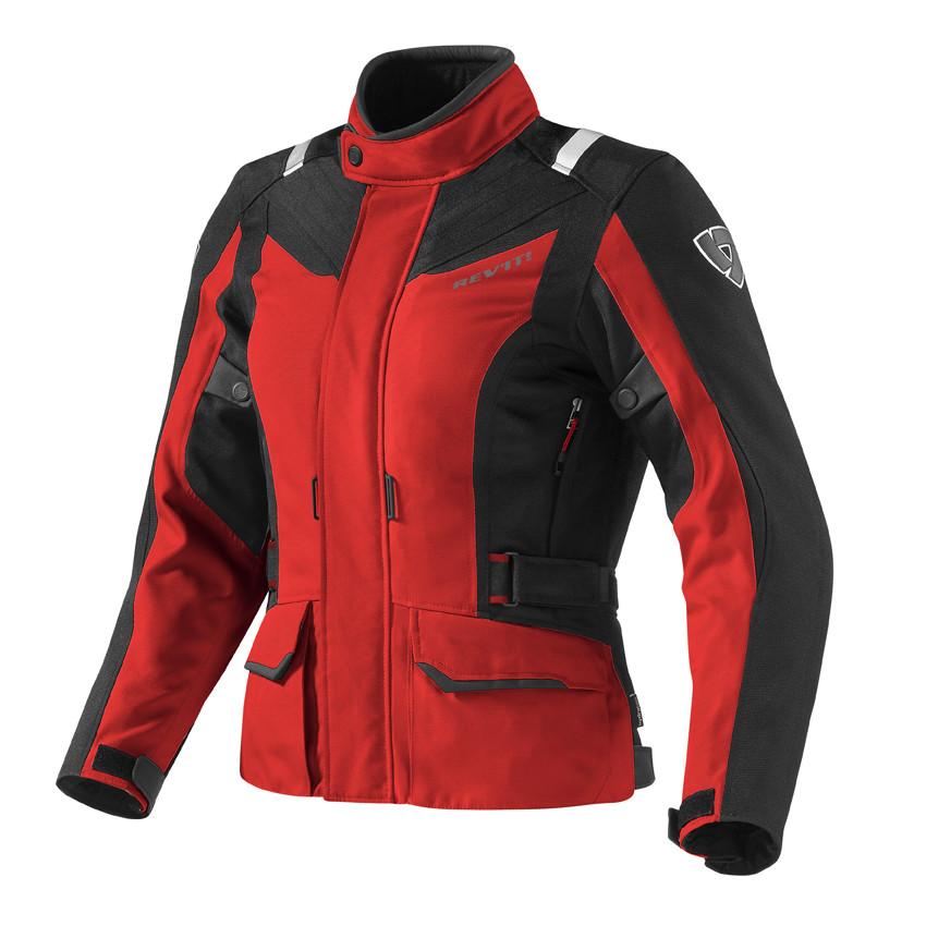 Мотокуртка женская Revit VOLTIAC LADIES р. 34 текстиль black\red