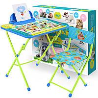 Детский столик со стульчиком Пушистая азбука КУ2/ПА