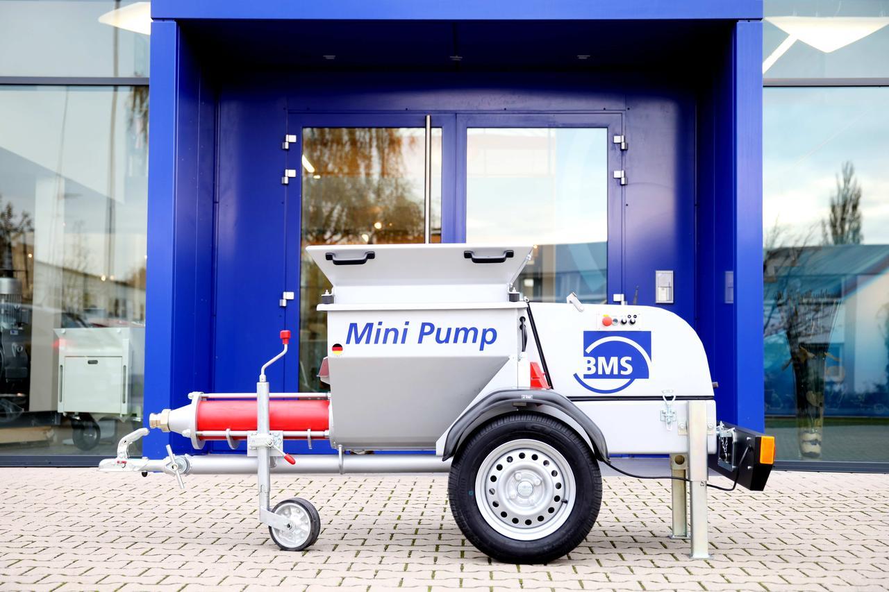Пневмонагнітач (пневмонагнетатель / растворонасос) BMS Fluid Mini Pump, фото 1
