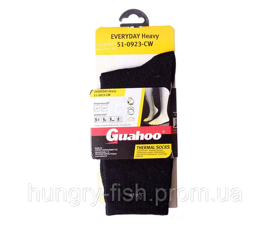 Носки Guahoo Everyday Heavy Health Angora Black 45-47