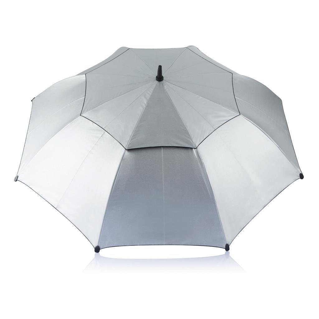 Антиштормовой зонт-трость XD Design Hurricane storm, серебристый