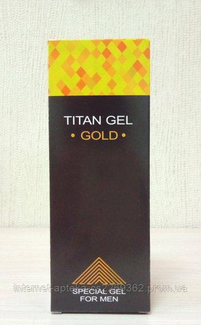 Titan Gel Gold - Гель-лубрикант для потенции (Титан Гель Голд),Тітан гель голд