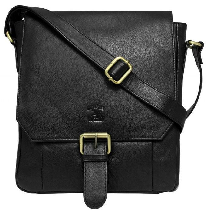Кожаная мужская сумка через плечо Always Wild C48.0163-PDM, фото 1
