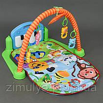 Коврик детский игровой, развивающий, музыкальный HX 9124 A