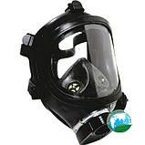 Шлем-маска панорамного противогаза модифицированная ППМ-88, фото 2