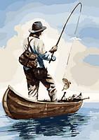 Картина по номерам Утренняя рыбалка 40 х 50 см (KH2240)