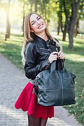 Женская кожаная сумка 22 зеленый флотар 01220105