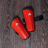 Щитки Adidas подростковые (красные)