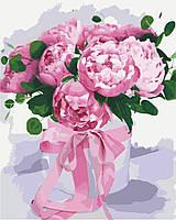 Картина по номерам Пионовое чудо 40 х 50 см (KHO2095)