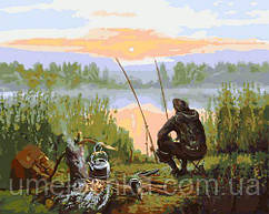 Картина по номерам Отдых у речки 40 х 50 см (KHO2241)