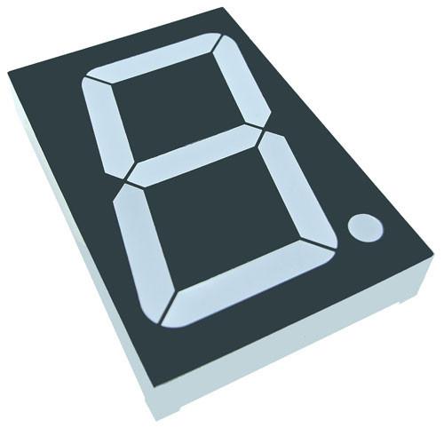 Цифровий семисегментний індикатор GNS-23011BUG-11 2.3 дюйм світлодіодний зелений G-NOR 3112