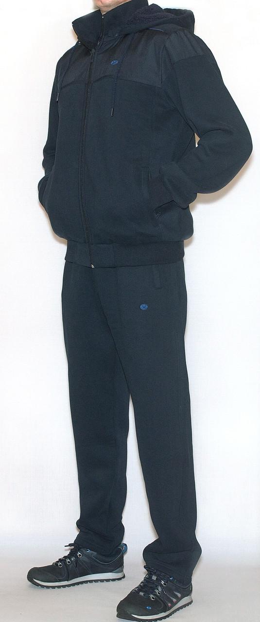 Мужской утепленный спортивный костюм (на меху)