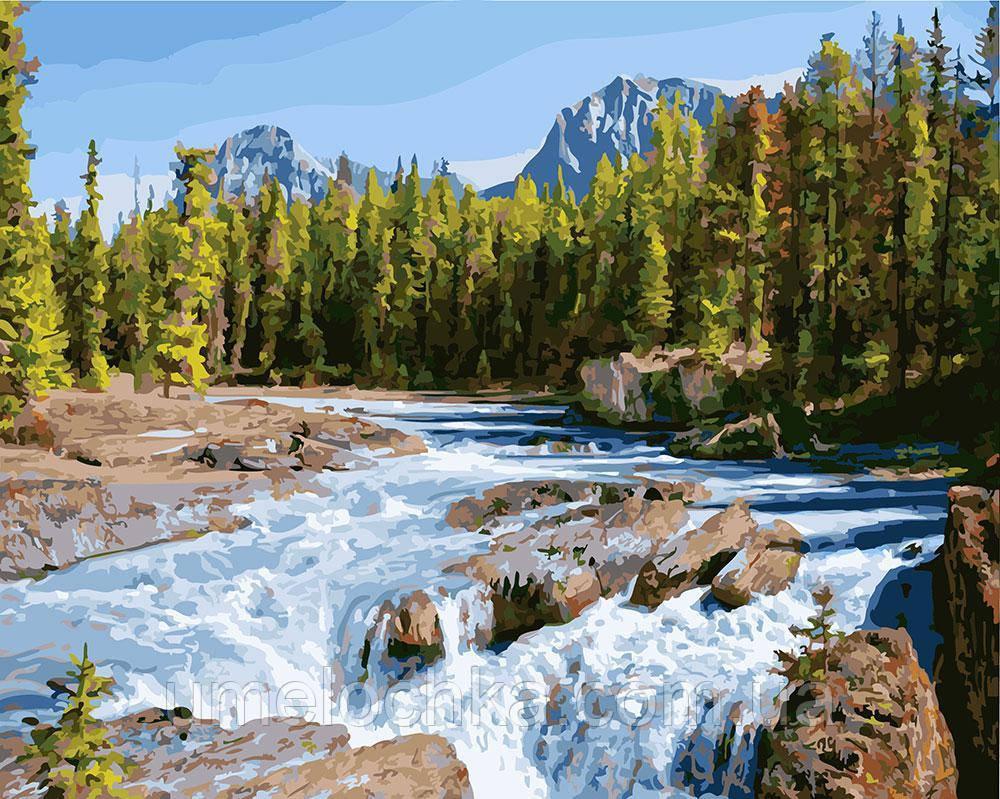 Картина по номерам Бурная река 40 х 50 см (BK-GX22373)
