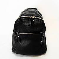 Женский кожаный рюкзак черного цвета EМW-098777, фото 1