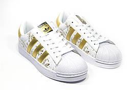 Кроссовки женские Adidas Superstar   3-059