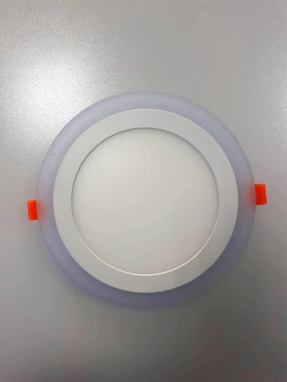 LED панель Lemanso 12+4W с синей подсветкой 4500K круг / LM497