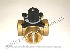 3-х ходовой клапан к твердотопливным котлам (для подмеса теплоносителя из подачи в обратку). Ручная