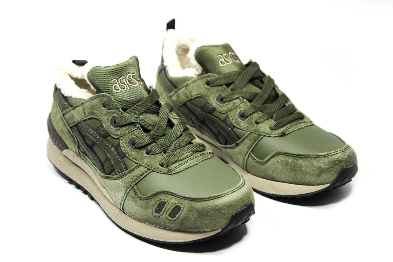 Зимние кроссовки  (на меху)мужские Asics Gel Lite 3 8-081