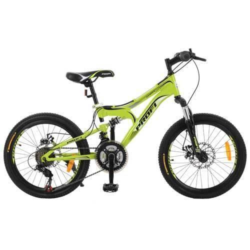 """PROFI Велосипед Profi 20"""" G20DAMPER S20.4 Green (G20DAMPER)"""