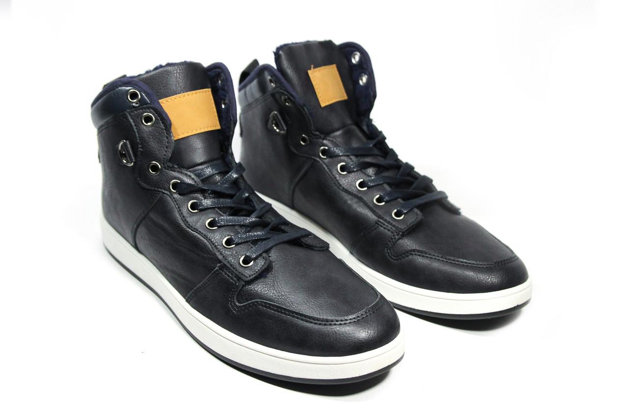 Зимние ботинки (на меху) мужские Vintage   18-009