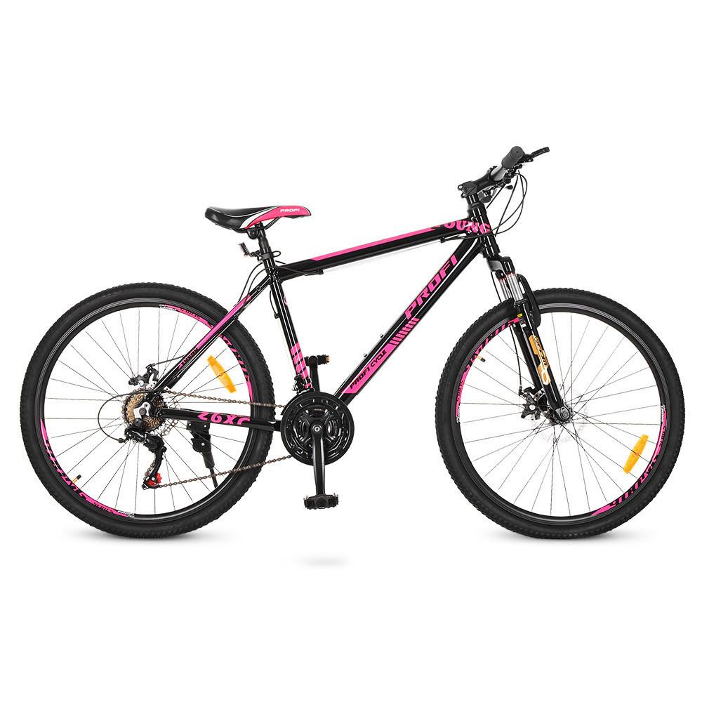 "PROFI Велосипед Profi 26"" G26YOUNG A26.4 Black Pink (G26YOUNG A26.4)"