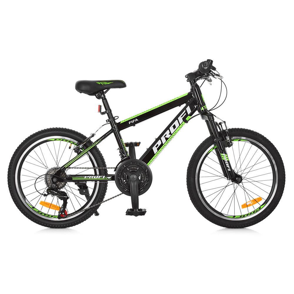 "PROFI Велосипед Profi 20"" G20FIFA A20.2 Black-Green (G20FIFA)"