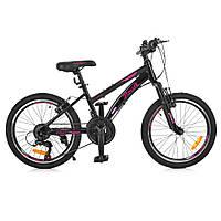 "PROFI Велосипед Profi 20"" G20VEGA A20.2 Black (G20VEGA), фото 1"