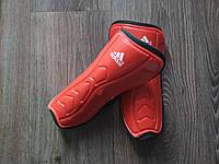 Щитки Adidas подростковые (красные), фото 1