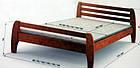 Деревянная кровать Милан 90х200 сосна Mebigrand, фото 2