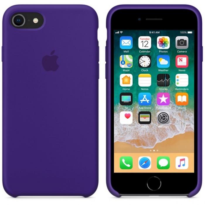Чехол для Apple Silicone Case (34) iPhone 7/8 Ultra Violet