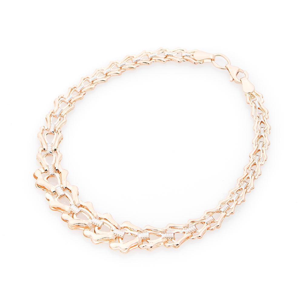 Золотой браслет без камней гб01333