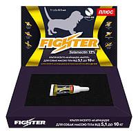 Капли Файтер плюс 12% для собак весом от 5,1 до 10 кг (аналог Фронлайн)