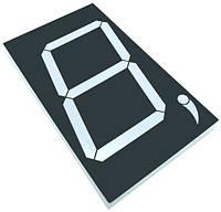 Цифровий семисегментний індикатор GNS-50011BUE-11 5.0 дюйм світлодіоднийчервоний G-NOR 3454