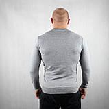 Мужской джемпер серого цвета, фото 3