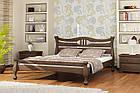 Деревянная кровать Даллас 90х200 сосна Mebigrand, фото 4