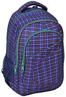 Яркий молодежный рюкзак PASO 21L 15-8115B фиолетовый