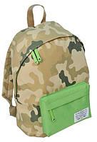 Городской рюкзак Paso CM-222B камуфляж/зеленый 15 л