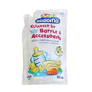 """Жидкость для мытья бутылок и сосок (0+) (мягкая упаковка) """"Lion"""" """"Кодомо"""" 700 мл (016989)"""