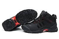 Зимние ботинки на меху Adidas Climaproof, черные (30501), р.  [  41 43 44 45  ]