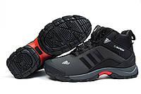 Зимние ботинки на меху Adidas Climaproof, темно-серые (30502), р.  [  41 (последняя пара)  ]