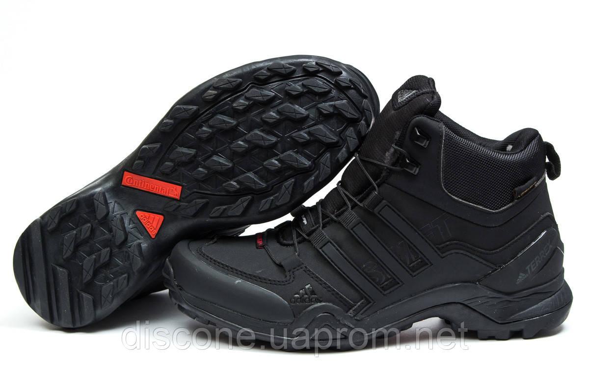 Зимние ботинки на меху ► Аdidas Terrex Gore Tex,  черные (Код: 30511) ►(нет на складе) П Р О Д А Н О!