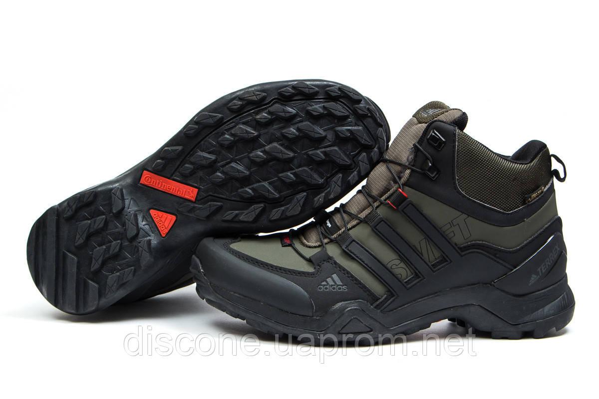 Зимние ботинки на меху ► Аdidas Terrex Gore Tex,  хаки (Код: 30515) ►(нет на складе) П Р О Д А Н О!