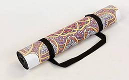 Коврик для йоги Замшевый каучуковый двухслойный 3мм Record FI-5662-24, фото 2