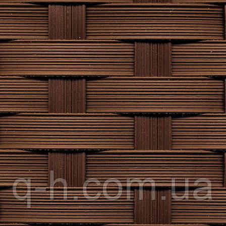 Стул Блюз плетеный из искусственного ротанга коричневый, 58х59х80см , фото 2