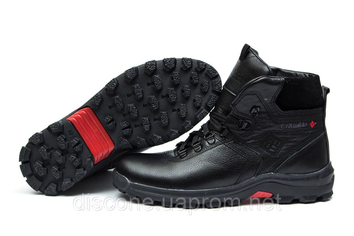 Зимние мужские ботинки 30551 ► Columbia Chinook Boot WP, черные ✅SALE! % ► [ нет в наличии ]