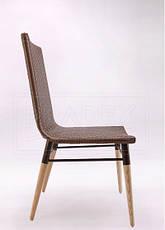 Плетеный стул из искусственного ротанга Original коричневый, 45х58х92 см, фото 3
