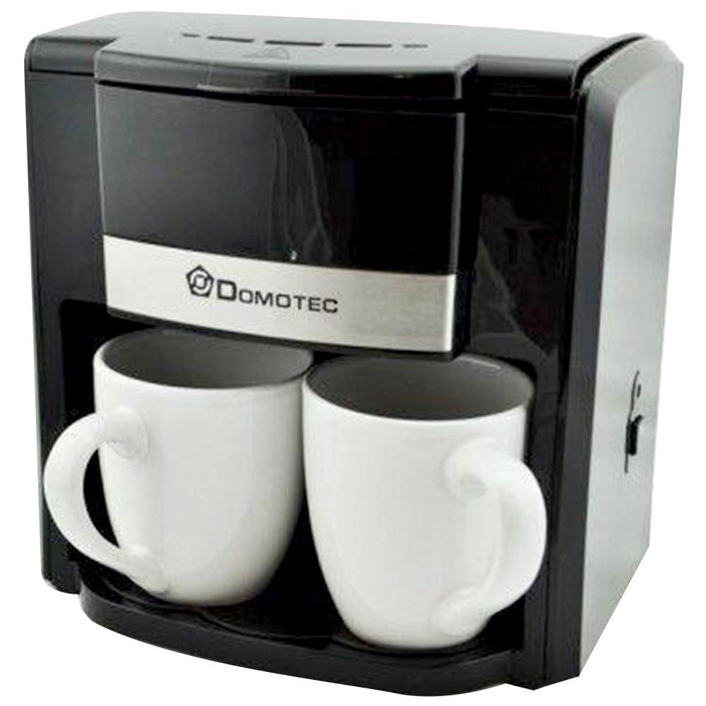 Кофеварка Domotec на 2 Чашки  MS-0708