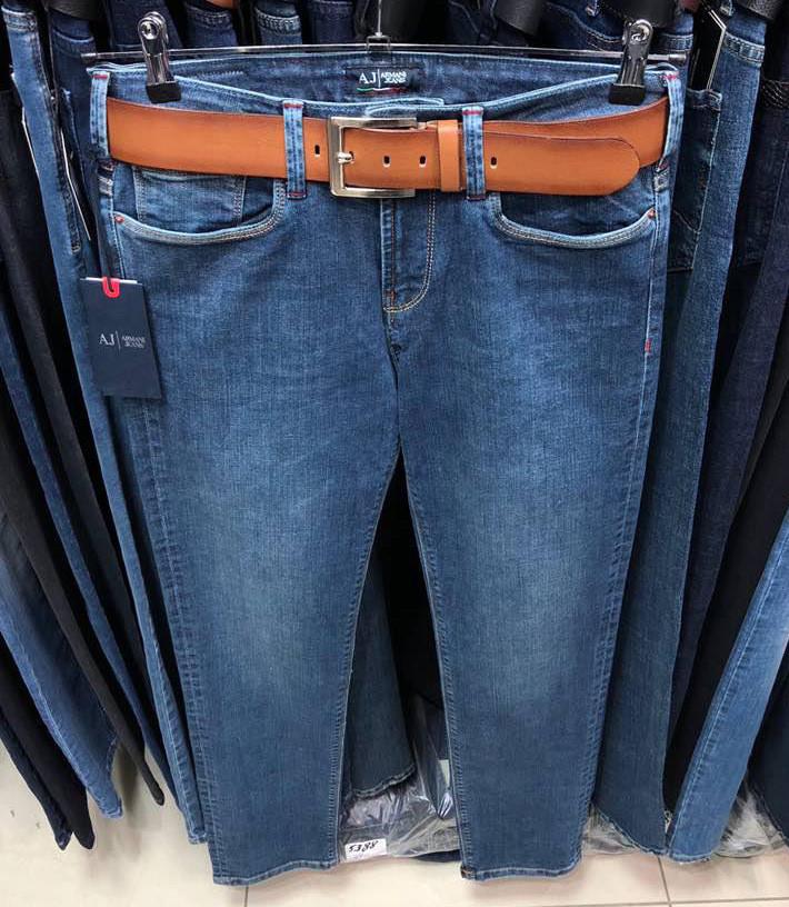 6fde44a1c171 Мужские джинсы Armani Jeans D4384 темно-синие - купить по лучшей цене, от  компании из ...