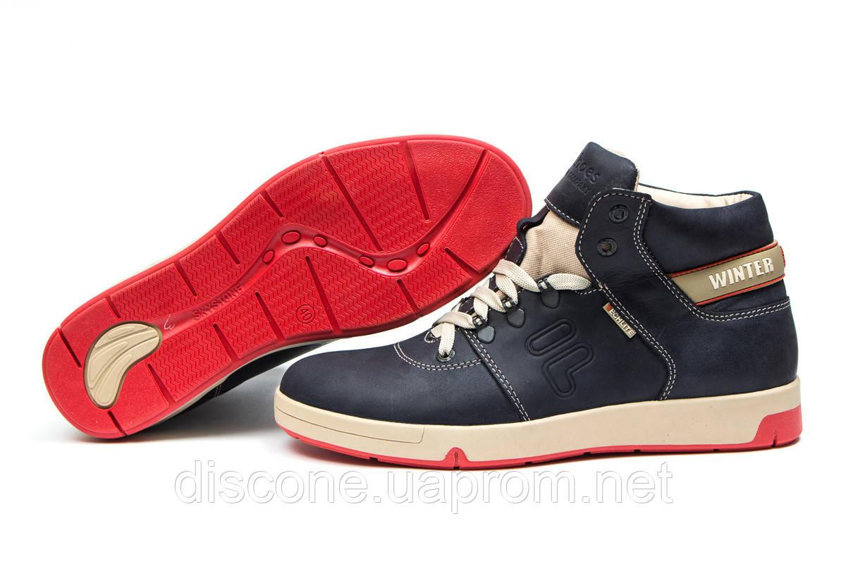 Зимние мужские ботинки 30612 ► Clubshoes Sportwear, темно-синие ✅SALE! % ► [ нет в наличии ]
