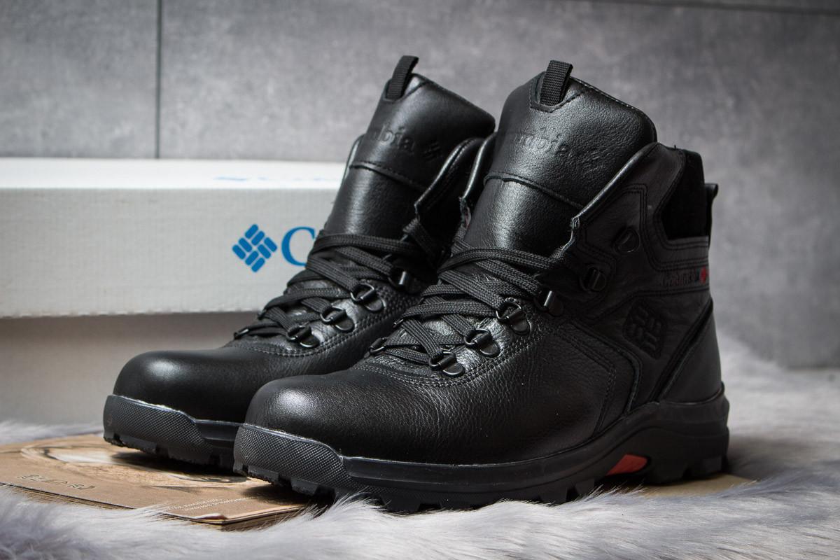 52e47483 Зимние ботинки на меху Columbia Chinook Boot WP, черные (30551) размеры в  наличии
